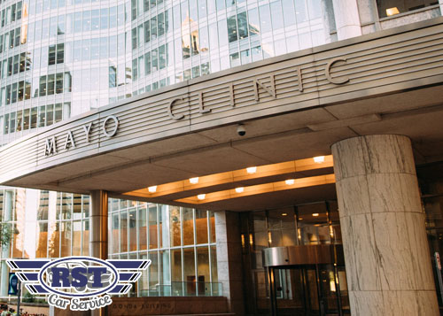 mayo clinic car service mn